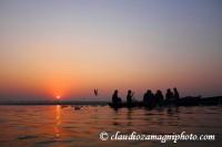 Indu lesson on Ganga river (India)