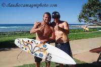 Mark Occhilupo and Me (Rainbow Bay 2010) Australia