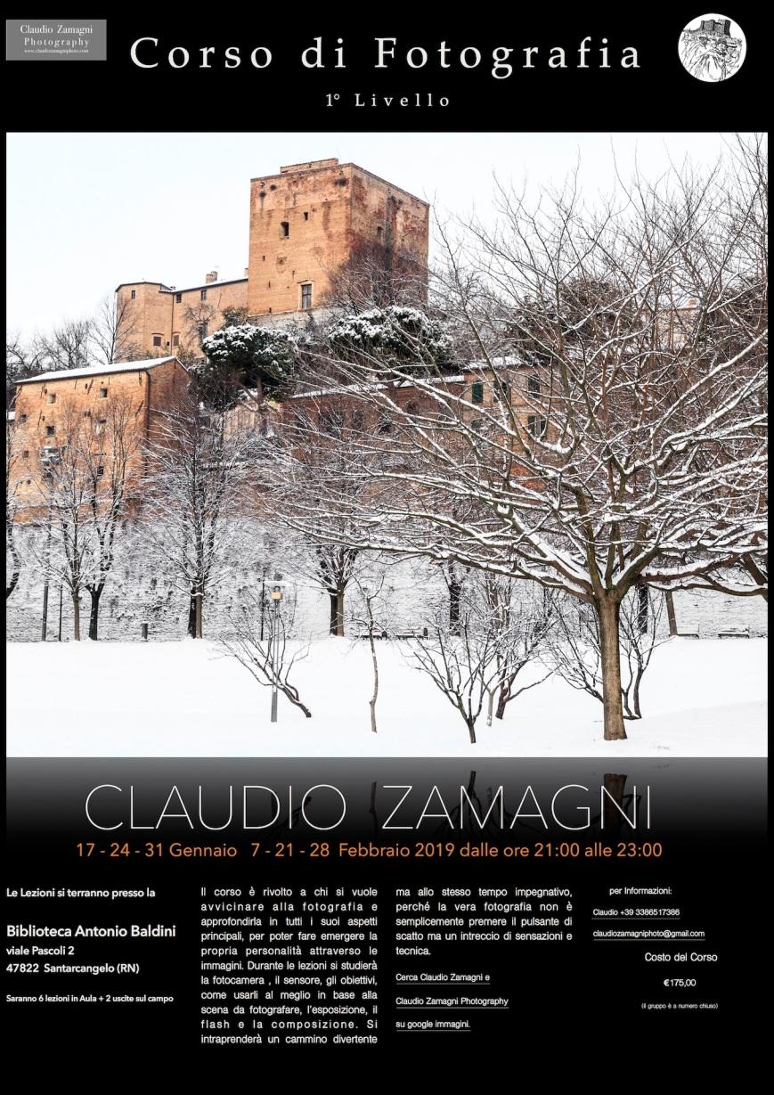 locandina corsi foto Santarcangelo 2019